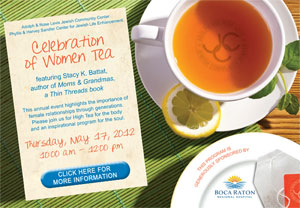 Celebration of Women Tea